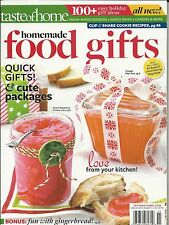 Taste of Home magazine Homemade food gifts Jam Gingerbread Holiday ideas Cookies