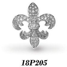 Collares y colgantes de joyería con diamantes colgante en oro blanco I1