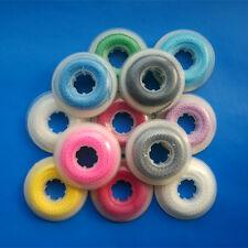 10 pcs Dental Power Chains Orthodontic Elastic Ultra Rubber Spool 12 Colors Long