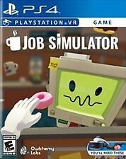 Job Simulator (Sony PlayStation 4, 2017) PS4 Brand New Factory Sealed!