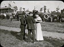 RENNES 1907 - Champ de Courses Automobiles - Bretagne Positif Verre 10 x 8 - 81