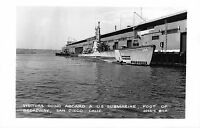 RP Postcard Visitors onboard U.S. Submarine in San Diego, California~110427