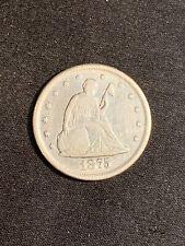 1875 CC 20 CENT COIN