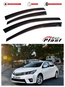 For Toyota Corolla 11 2012-2018  Window Deflector Visor Vent Rain Wind Guard