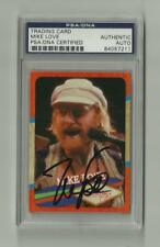 Mike Love 2013 Panini Beach Boys signed card  PSA/DNA Auto The Beach Boys
