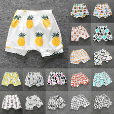 Baby Boy Girl Toddler Bloomer Shorts Bottoms Cartoon Print Clothes Nappy Panties