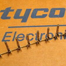 "NEW 100 TYCO Commercial MATE-N-LOK Crimp Pin Molex Disk Power .200"" 61118-1 TE"