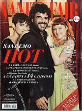 Vanity Fair.Festival di Sanremo,Alex Pettyfer,Joel Kinnaman,Stacy Martin,jjj