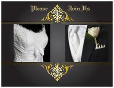 20  WEDDING BRIDAL SHOWER Invitations Bride Groom Formal Cards Post CARDS