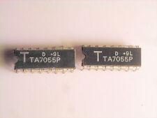 "TA7055P  ""Original"" Toshiba  16P DIP IC  2 pcs"