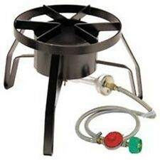 BAYOU CLASSIC SP10 GAS HIGH PRESSURE OUTDOOR COOKER WITH HOSE & VALVE NEW SALE