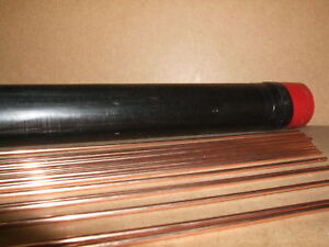Copper Coated Mild Steel Gas Welding Rods CCMS Oxy/Acet 2.4mm x 5kg packet