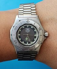 Vintage Tag Heuer 3000 ref 932.213 34mm Stainless Steel Mens Divers watch