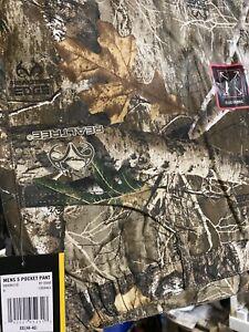 NWT 5 Pocket Camo Hunt Stretch Flex Realtree Edge Mossy Oak S XXL XL 28 30 40 42