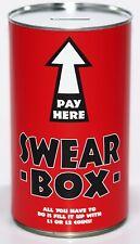 SWEAR TIN - Large 17.5cm Savings Tin Swear Money Box Jar Fund Holds upto £1000