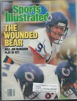 Sports Illustrated,JIM McMAHON AUTOGRAPHED COVER 8/24/1987