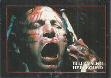 hellraiser II Hellbound trading card #32 Channard faces a God (1992) Mint