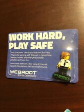 WEBROOT LEGO Minifig Best Buy Exclusive SEALED Geeksquad Fig