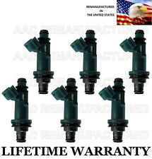 GENUINE Denso Set Of 6 Fuel Injectors for Toyota Avalon Solara Lexus RX300 3.0L