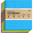 cce Swedish Dishcloths Cellulose Sponge Cloths for Kitchen, 12 Pack of Dish for