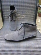 A.Testoni Your Ego Tan Suede Chukka Mocs Ankle  Boot Lace Up Sz 10