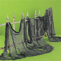 Fashion Gothic Halloween Creepy Gauze Cloth Door House Decor Props Party Decor