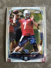 ZACH METTENBERGER 2014 TOPPS CHROME #206 REFRACTOR ROOKIE RC TITANS