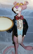 Extremely Rare! Pink Panther as Butler Lifesize Polyester Figurine Statue