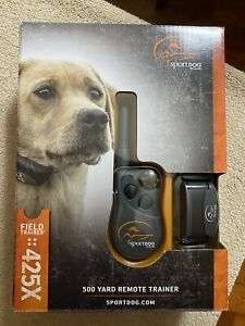 SportDOG FieldTrainer 425X 500 Yard Collar with Remote Dog Training System ~ NEW
