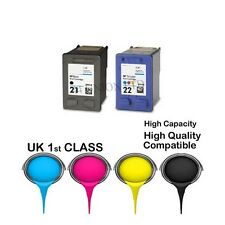 2 REMANUFACTURED  ink catridge for HP21&HP22 HP PRINTER