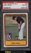New listing 1981 Donruss Golf SETBREAK Hale Irwin #38 PSA 10 GEM MINT