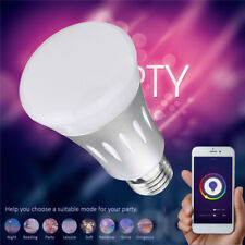 E27 8W Wireless WIFI APP Control LED RGBW Color Changing Smart Bulb Light Lamp
