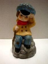 Jasco Merri Bell Vintage 1978 Christmas Tiny Tim Bell Figurine [Us Seller]