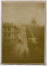 PHOTO ANCIENNE - VINTAGE SNAPSHOT - PARIS SACRÉ COEUR MONTMARTRE FUNICULAIRE