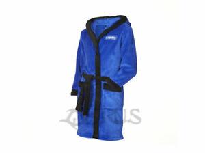Genuine Yamaha 20 Paddock Blue Racing Kids Dressing Gown
