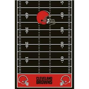 Cleveland Browns NFL Pro Football Sports Party Decoration Plastic Tablecover