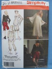Simplicity Sewing Patterns 2777 HH  6, 8, 10, 12 New Uncut Gothic Steampunk New