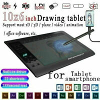 "10"" Digital Writing Drawing Tablet Handwriting Pad Electronic Graphic Board"