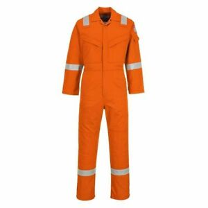 Portwest - Flame Resist Safety Workwear Anti-Static Coverall Boilersuit