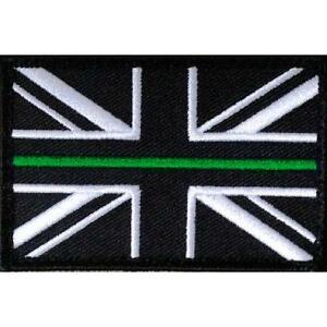 Thin Green Line Ambulance Service Union Jack Official VELCRO® backed patch Badge
