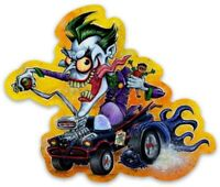 Rat Fink Joker Batmobile Custom MAGNET Batman Robin Hot Rod TV Vintage Classic