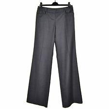 BARBARA BUI Pantalon Laine Gris 40 Fluide Taille Basse Wool Pants M Medium