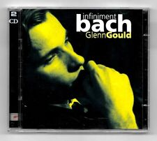 CD / GLENN GOULD - INFINIMENT BACH / DOUBLE ALBUM 63 TITRES SONY 2006