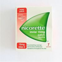 Nicorette Invisi Patch 15mg Step 2 - 7 Patches - 6 Pack