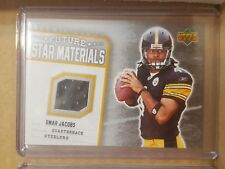 2006 Upper Deck Omar Jacobs Jersey card Steelers Bowling Green