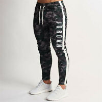 Mens Michael Air 23 Jordan Camouflage Pants Men Sportswear Joggers Sweatpants