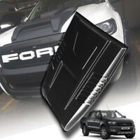 Gloss Black Bonnet Hood Scoop V1 Ford Ranger PX2 T6 Mk2 15 16 XLT Wildtrak