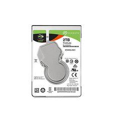 """Seagate FireCuda 2 TB Internal 7200 RPM 2.5"""" Hard Drive -ST2000LX001 SSHD (Solid State Hybrid Drive)"""