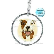Pitbull Ornament Dog Remembrance Christmas Tree Ornament Pit Bull Terrier