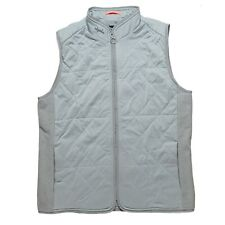Rapha Women's L Gray Lightweight Gilet/Vest Insulated Quilted Cycling